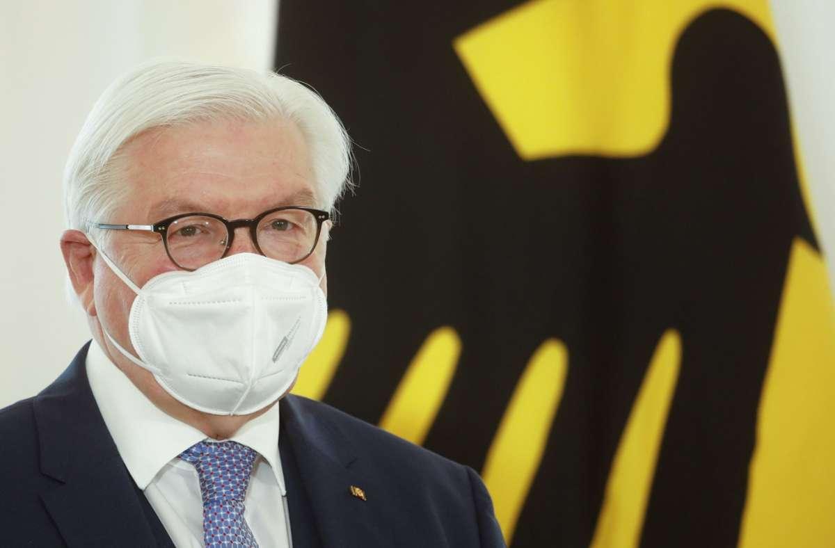 Bundespräsident Frank-Walter Steinmeier Foto: dpa/Markus Schreiber