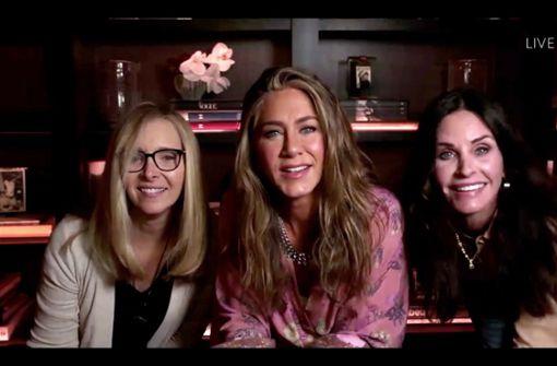 """Kleine """"Friends""""-Reunion bei der Preisverleihung"""