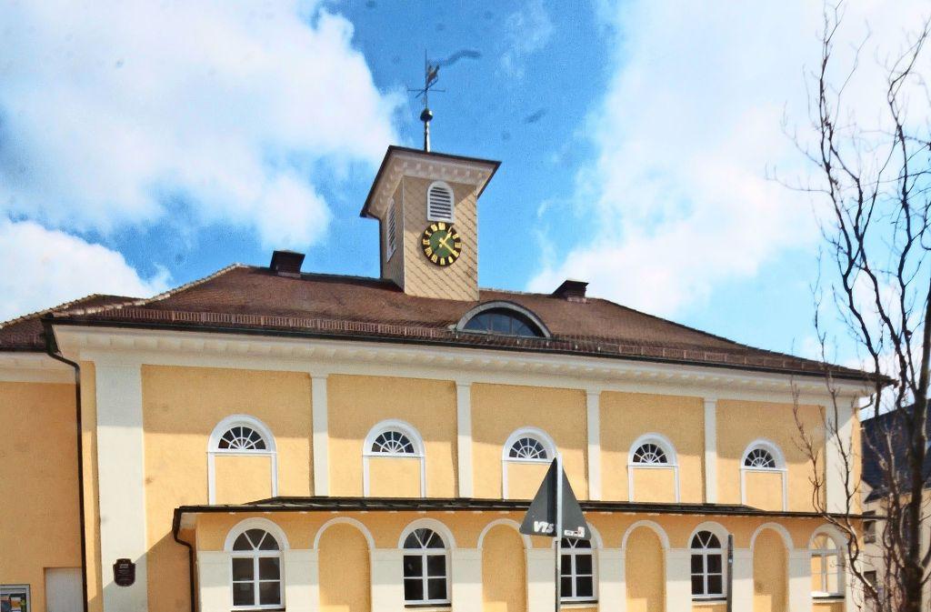 Der Saalplatz  mit dem Großen Saal, dem Gotteshaus der Brüdergemeinde ist das historische Zentrums des von  den Pietisten gegründeten Korntal. Foto: factum/Granville