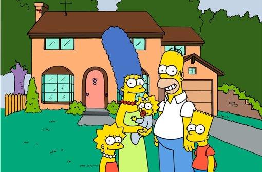Homer geht live auf Sendung