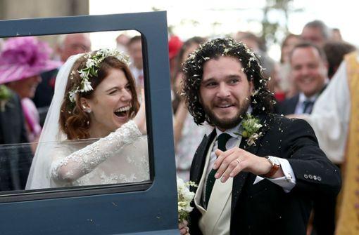 """""""Game of Thrones""""-Stars haben geheiratet"""