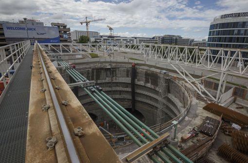 Stuttgarter Airport begrüßt Pläne  für Gäubahntunnel
