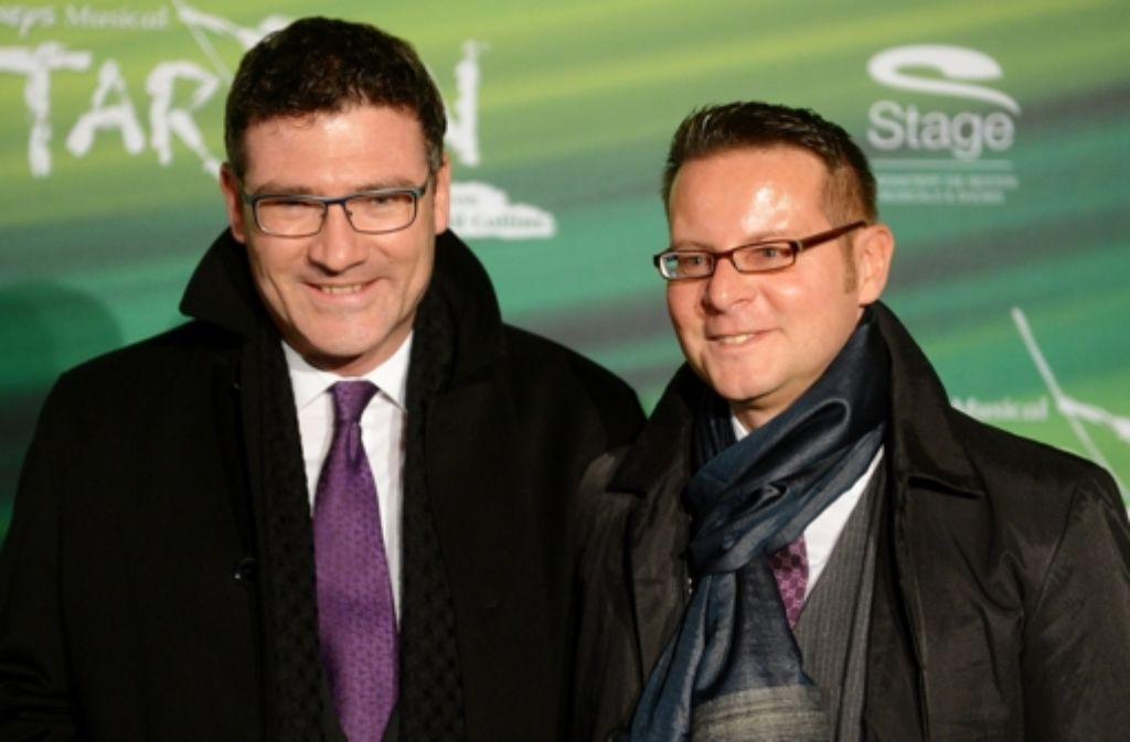 Stefan Kaufmann (links) hat mit Rolf Pfander eine eingetragene Lebensgemeinschaft. Foto: dpa