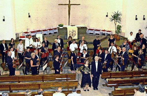Klassisches Konzert mit einem Orgelsolo