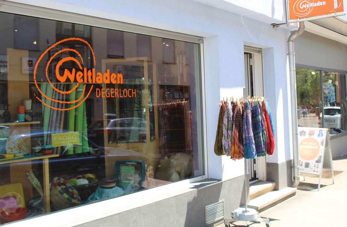Der Weltladen an der Rubensstraße hat auch im Lockdown geöffnet. Foto: Archiv/Tilman Baur
