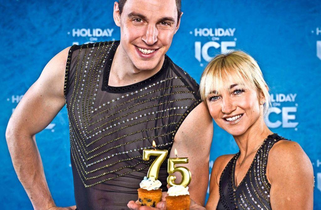 Als Gaststars bei einigen der Vorstellungen dabei sind die Olympiasieger Aljona Savchenko und Bruno Massot.  Foto: Veranstalter