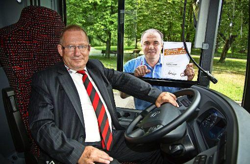 Der Busfahrer des Jahres und ein Retter in der Not