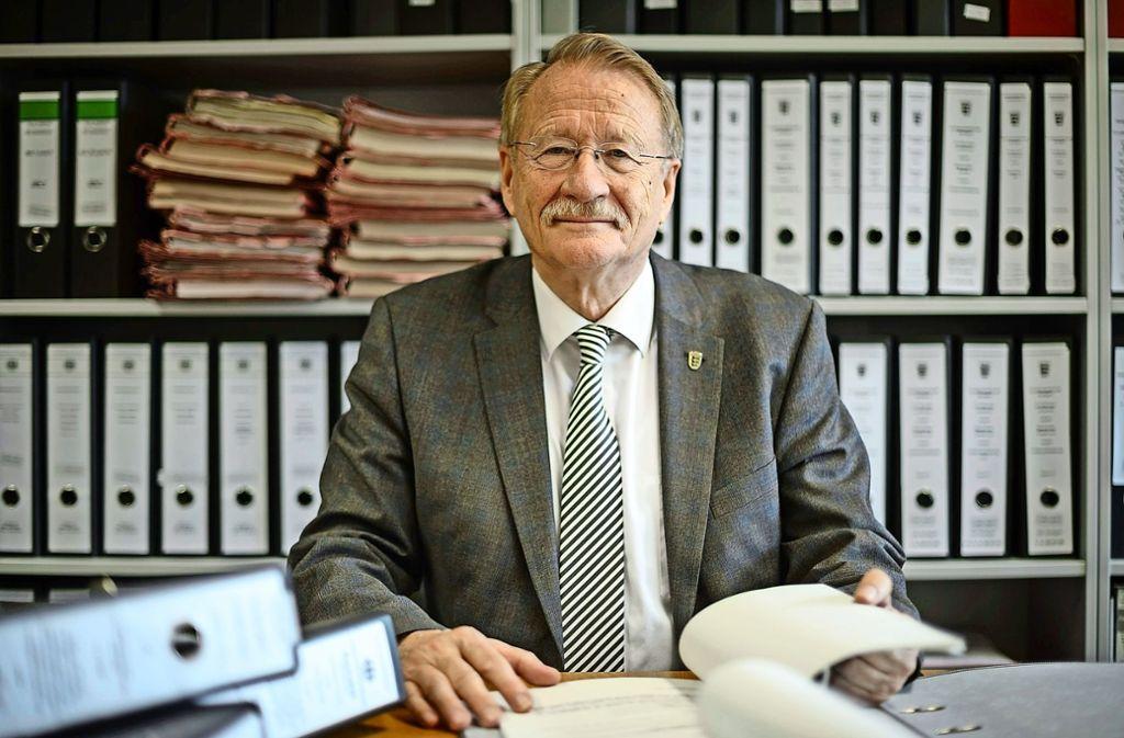 Vor 30 Jahren ist Wolfgang Drexler zum ersten Mal in den baden-württembergischen Landtag gewählt worden. Damit zählt er zu den dienstältesten Abgeordneten. Foto: dpa