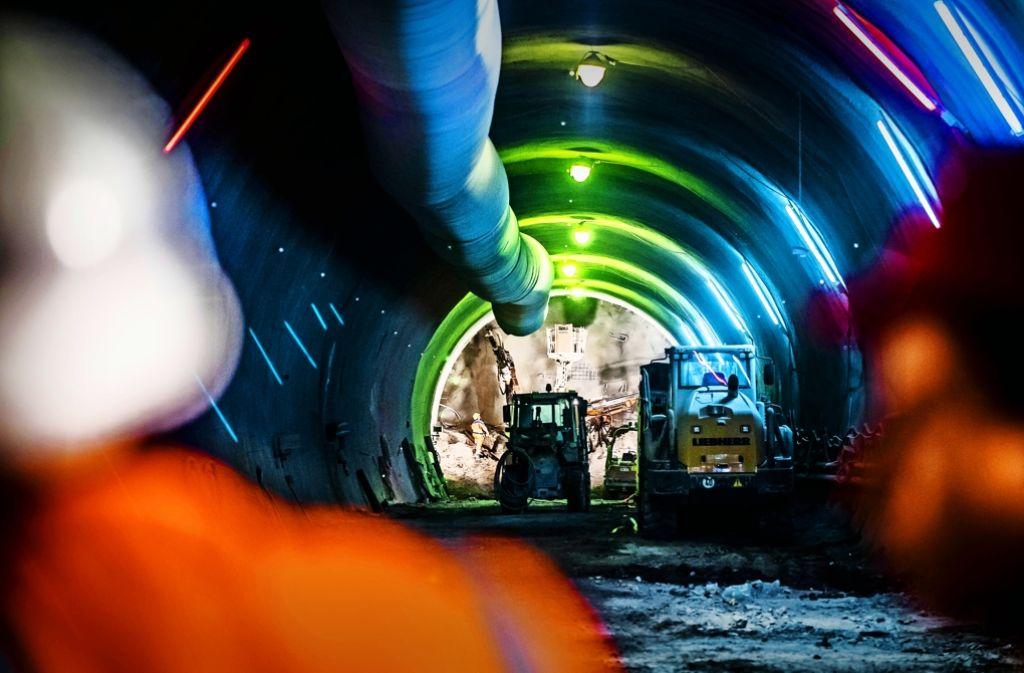 Der Tunnelbau für Stuttgart21 wird durchaus auch an der Oberfläche wahrgenommen. Nun wehren sich Betroffene auf juristischem Weg. Foto: Lichtgut/Max Kovalenko