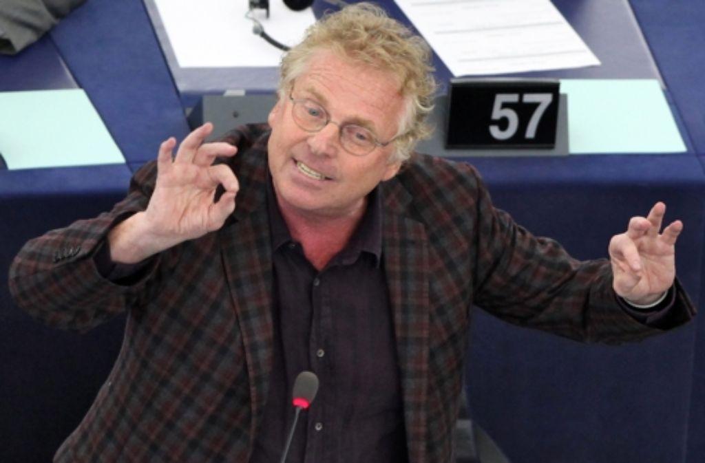 Linker Studentenführer, Sponti, Europapolitiker: Daniel Cohn-Bendit (Grüne) ist seit jeher eine streitbare Person. In der folgenden Bilderstrecke zeichnen wir die wichtigsten Stationen seines Lebens nach. Foto: epa
