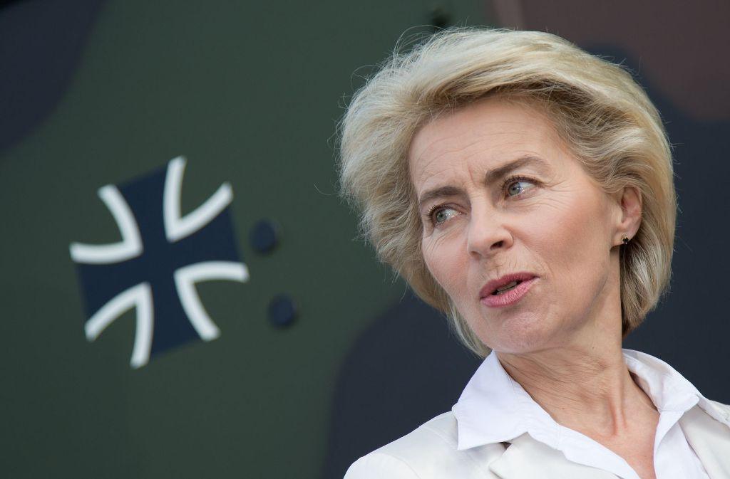 Verteidigungsministerin Ursula von der Leyen Foto: dpa