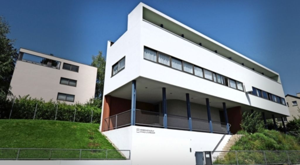 Im Le-Corbusier-Haus findet sich heute das Weisenhofmuseum. Foto: dpa