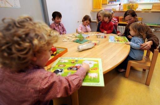 Kindern wird Stress zugemutet