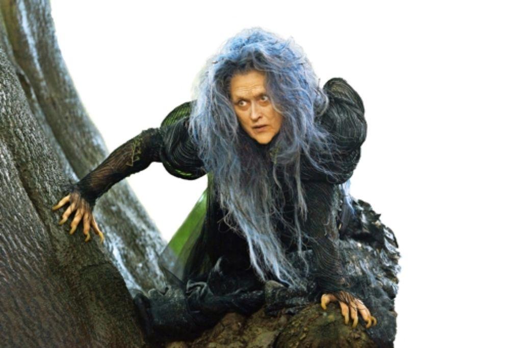 Hätten Sie sie erkannt? Meryl Streep als  Hexe Foto: Verleih