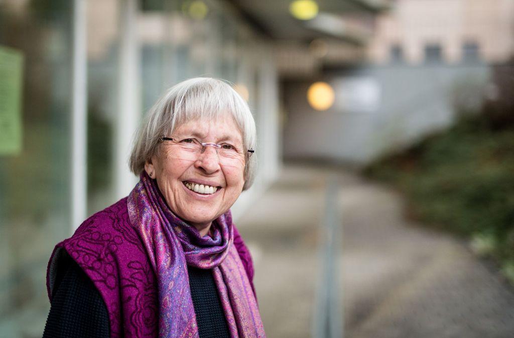 Mary Kling hat die Hospizgruppe vor 20 Jahren gegründet. Foto: Lichtgut/Christoph Schmidt
