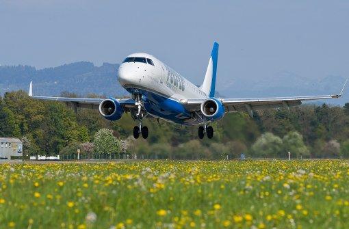Neue Fluglinie am Bodensee