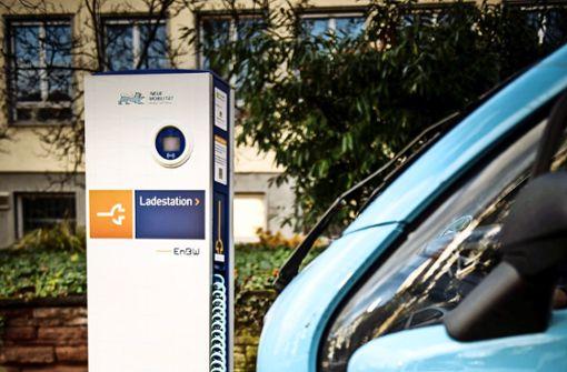 Die Tarife für E-Autofahrer ändern sich