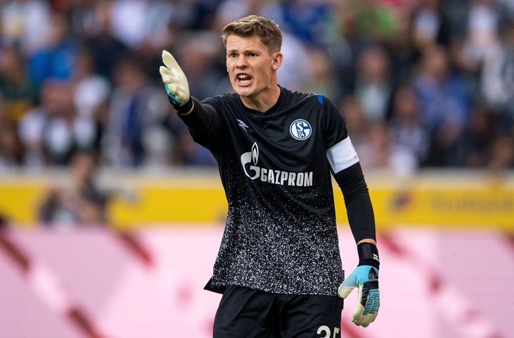 Alexander Nübel und Schalke 04 gehen im Sommer getrennte Wege. Foto: dpa/Marius Becker