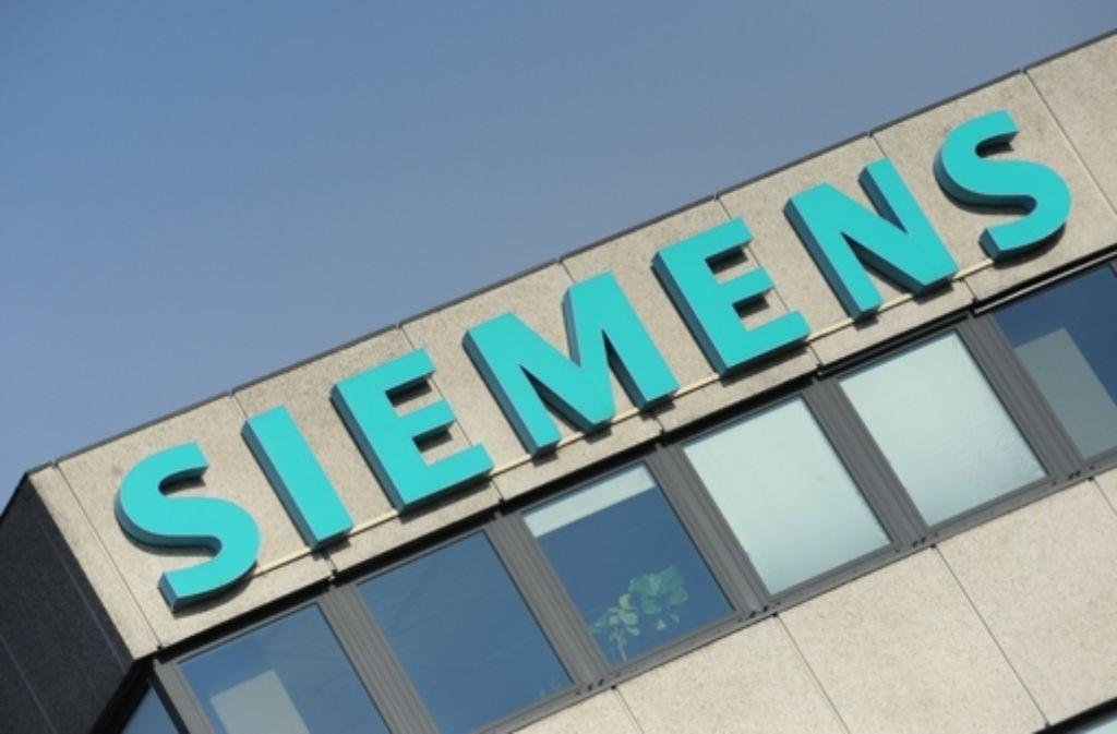 Bei Siemens befindet sich einiges in Schieflage. Foto: dpa