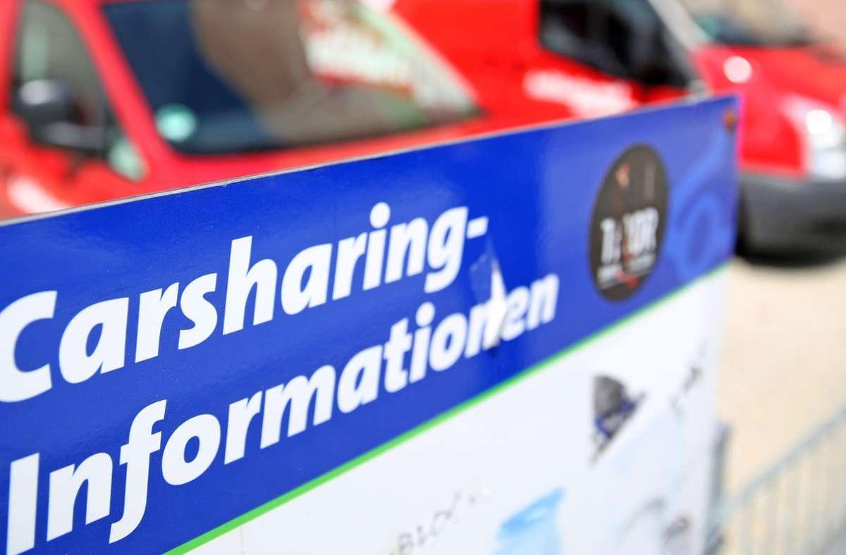 Carsharing-Unternehmen werden in der Corona-Krise unterstützt. Foto: dpa/Jan Woitas