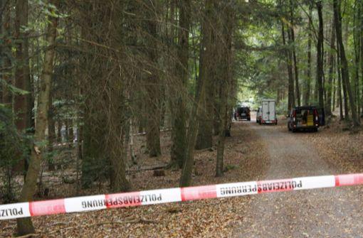 Leiche in Waldstück gefunden