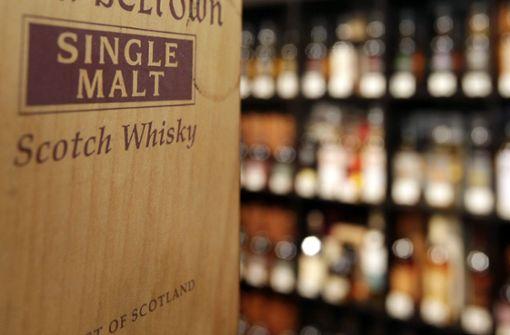 Whisky-Diebe  werden gestört