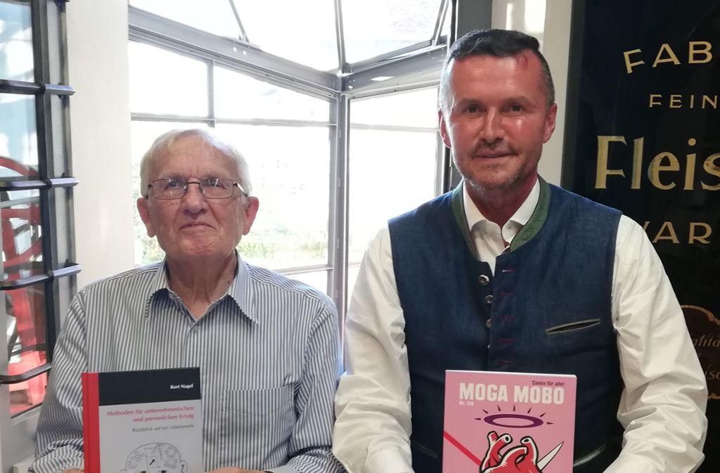 Der alte und der neue Vorsitzende: Kurt Nagel hat den Job im Förderverein an Fritz Gempel übergeben. . Foto:
