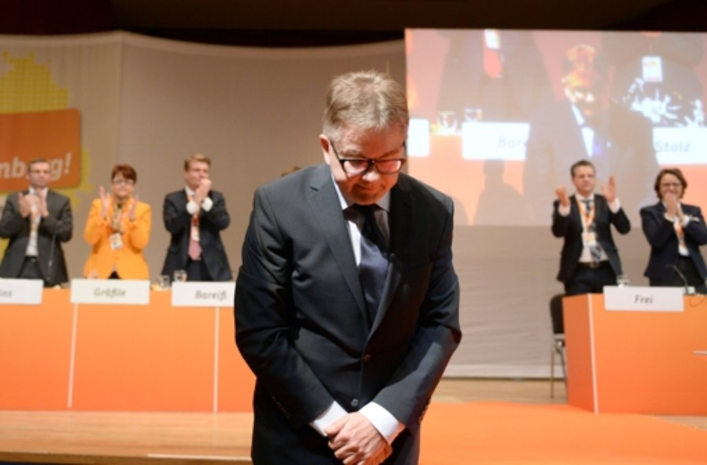 CDU-Spitzenkandidat Guido Wolf Foto: dpa