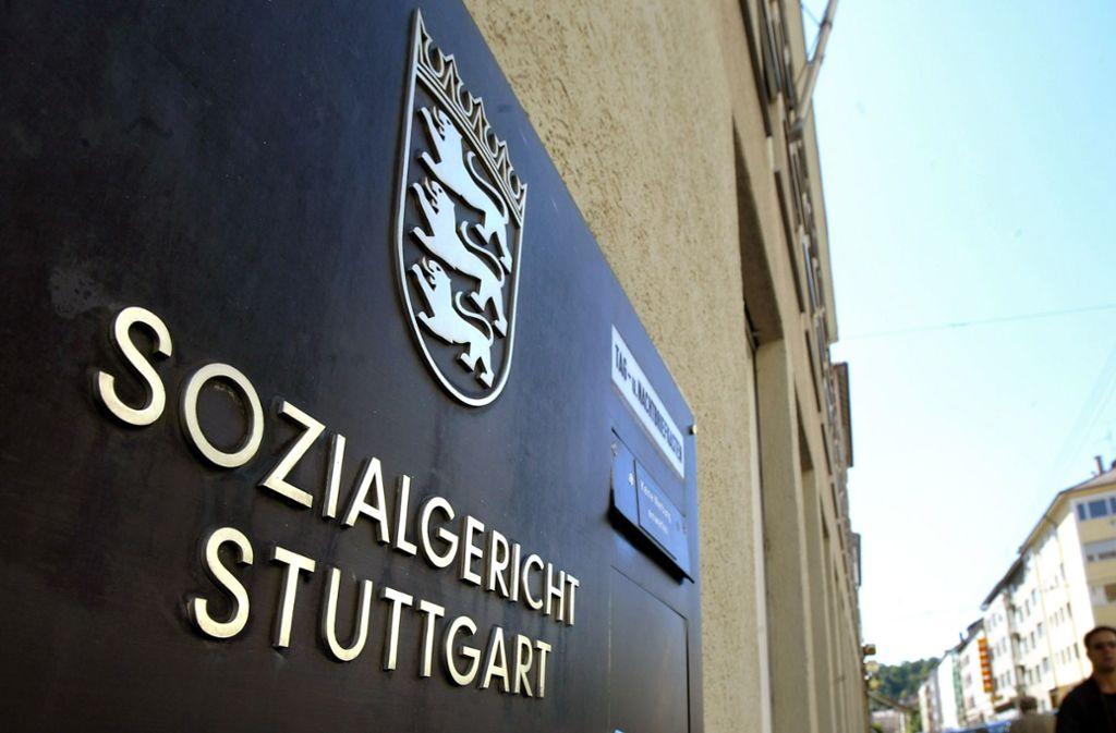Die Fallzahlen im Schwerbehindertenrecht sind am Stuttgarter Sozialgericht angestiegen. Foto: Horst Rudel