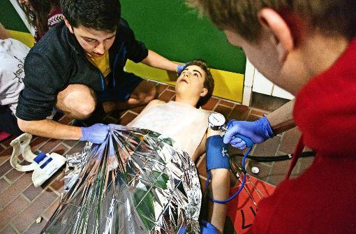 Schüler wappnen sich für den Notfall