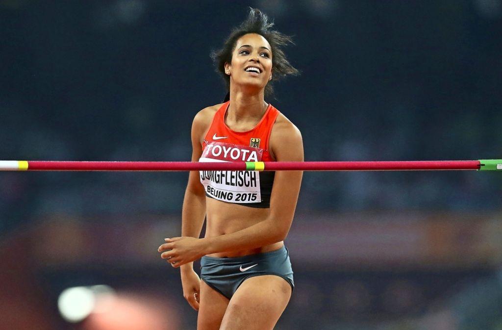 Bei der WM 2015 in Peking sprang Marie-Laurence Jungfleisch auf Rang sechs – nun will sie bei der EM und den Olympischen Spielen wieder um eine Medaille kämpfen. Foto: Getty