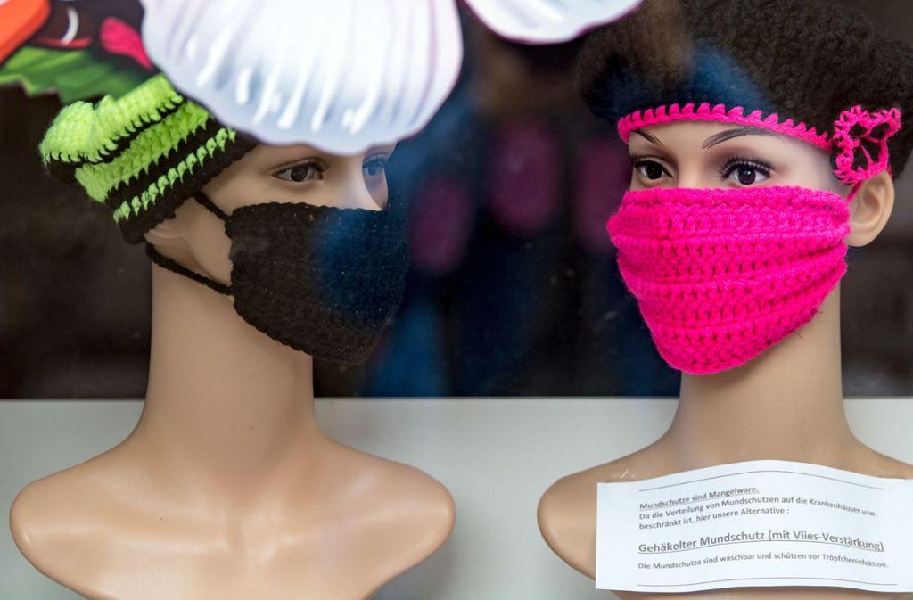 Für Kleinkinder gilt die Maskenpflicht in Baden-Württemberg nicht (Symbolbild). Foto: dpa/Hendrik Schmidt