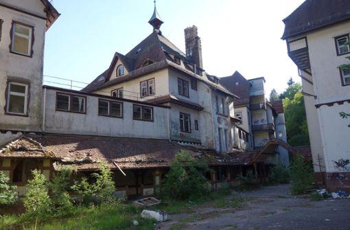Verfallenes Sanatorium im Schwarzwald wechselt Besitzer