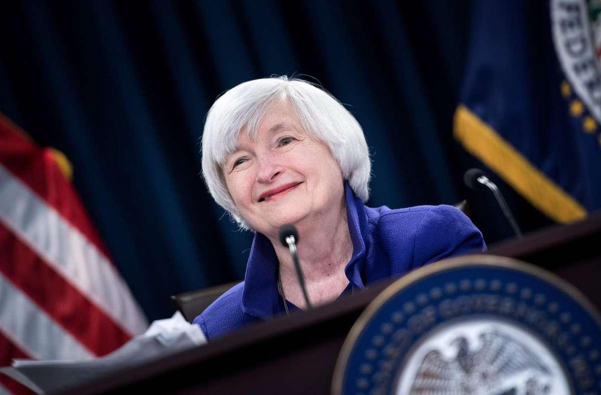 Als erste Frau in der Geschichte des Landes soll Janet Yellen US-Finanzministerin werden. Foto: AFP