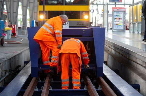 Polizei ermittelt nach Zugunfall gegen Lokführer