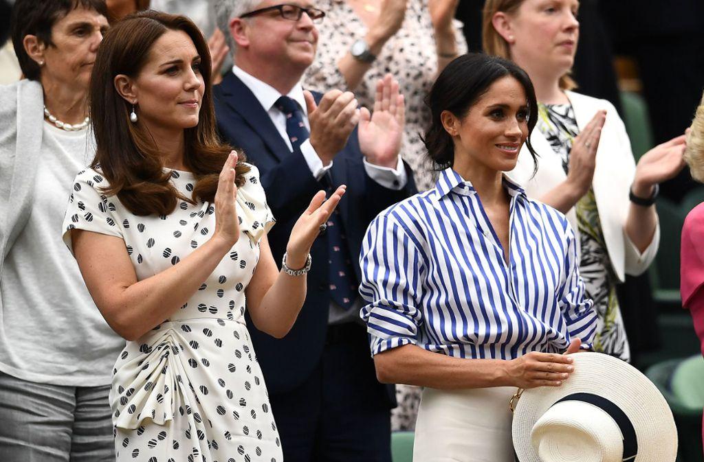 Welche Herzogin ist die größere Stilikone? Foto: Getty Images