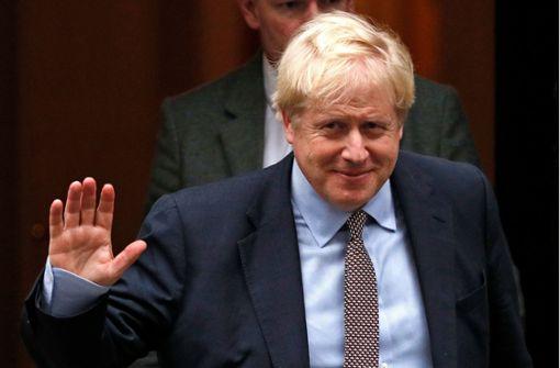 Premierminister Boris Johnson schlägt Neuwahl für 12. Dezember vor