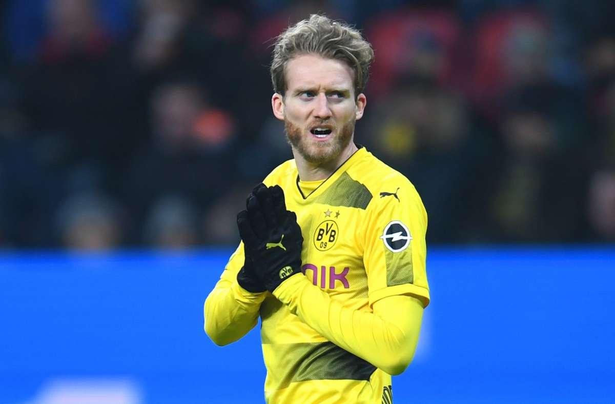 Der letzte Bundesliga-Club, für den André Schürrle spielte, war Borussia Dortmund. Foto: AFP/PATRIK STOLLARZ