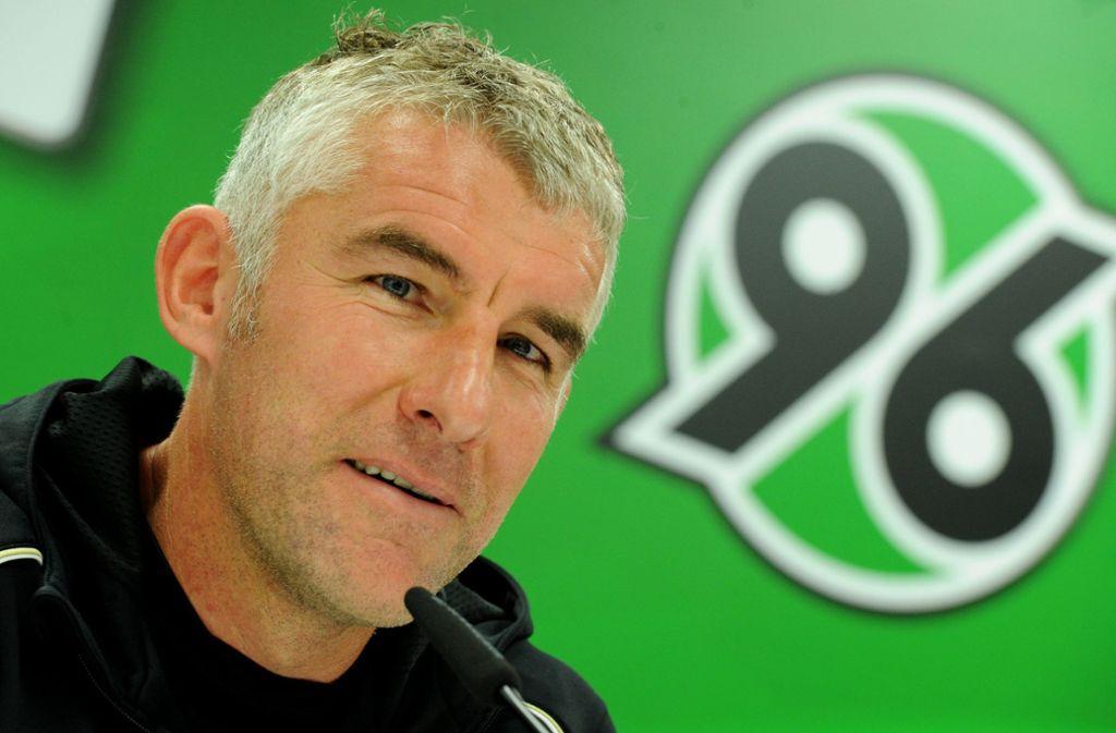 Alter und neuer Trainer bei Hannover 96: Mirko Slomka. Foto: dpa