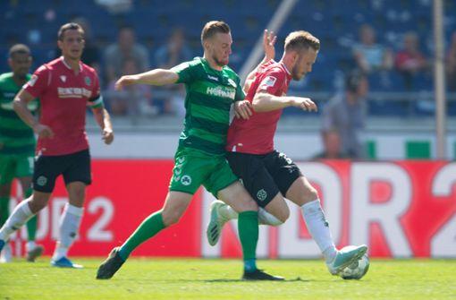 Hannover 96 kommt nicht inSchwung – nur 1:1 gegen Fürth