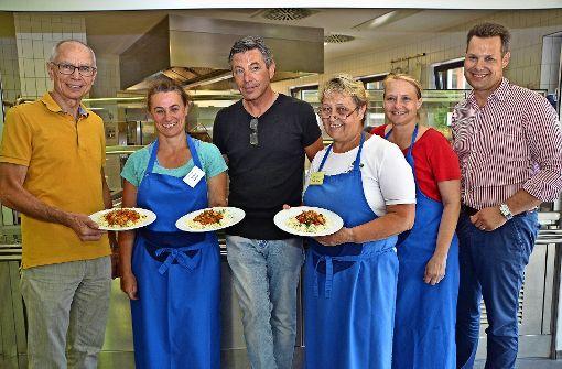 Eltern kochen 250000 Essen für Schüler