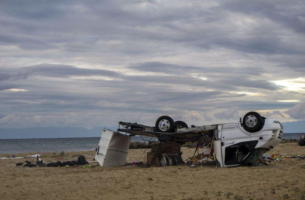 Bei schweren Unwettern in Griechenland kamen sechs Menschen ums Leben. Foto: AP