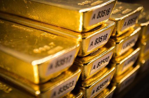 Bundesbank-Gold für den Couchtisch