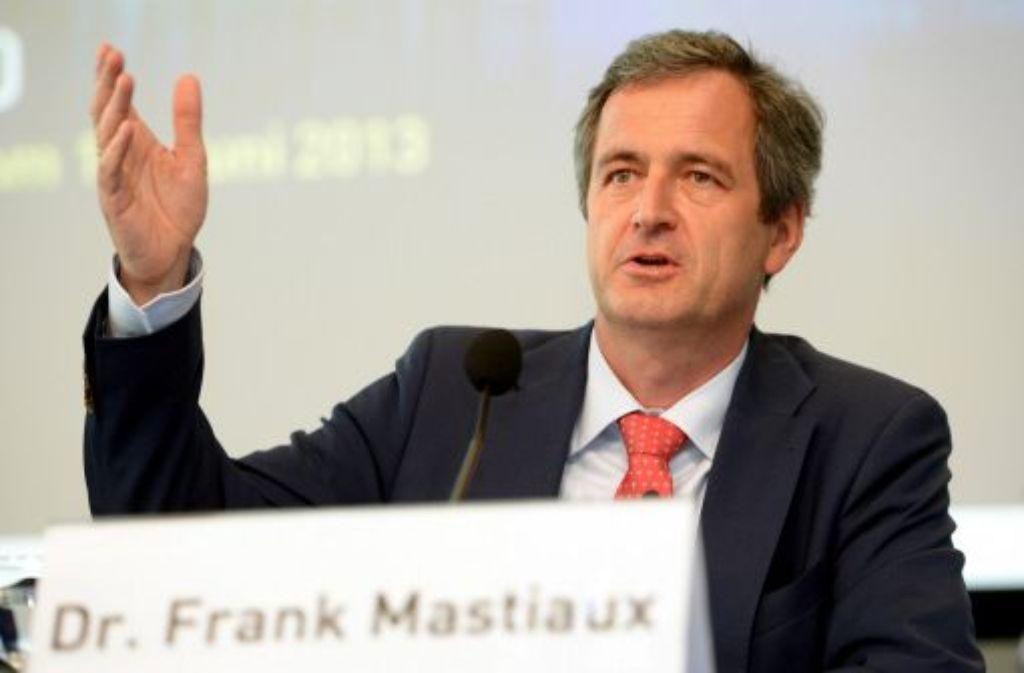 Nach neun Monaten im Amt hat EnBW-Chef Frank Mastiaux seine Strategie für die Energiewende vorgelegt. Foto: dpa