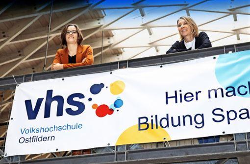 Christina Jetter-Staib und Susanne Kundt sehen die Pandemie auch als Chance
