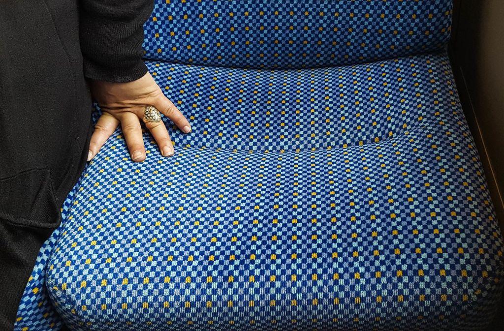 Ein freier Sitz in der S-Bahn – nicht immer ist er bedenkenlos benutzbar. Foto: Lichtgut/Max Kovalenko