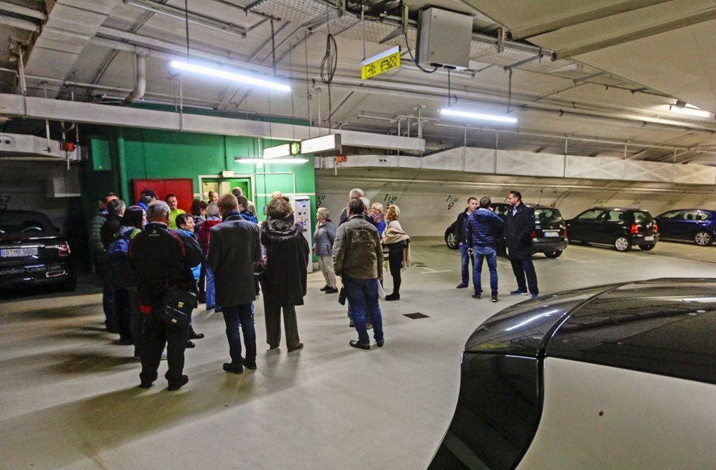 Die  Tiefgarage in der Altstadt stößt seit ihrer Fertigstellung   1986 auf  geteilte Resonanz  – die einen mögen sie, die anderen scheuen die  Fahrt in den  Untergrund. Foto: factum/Bach