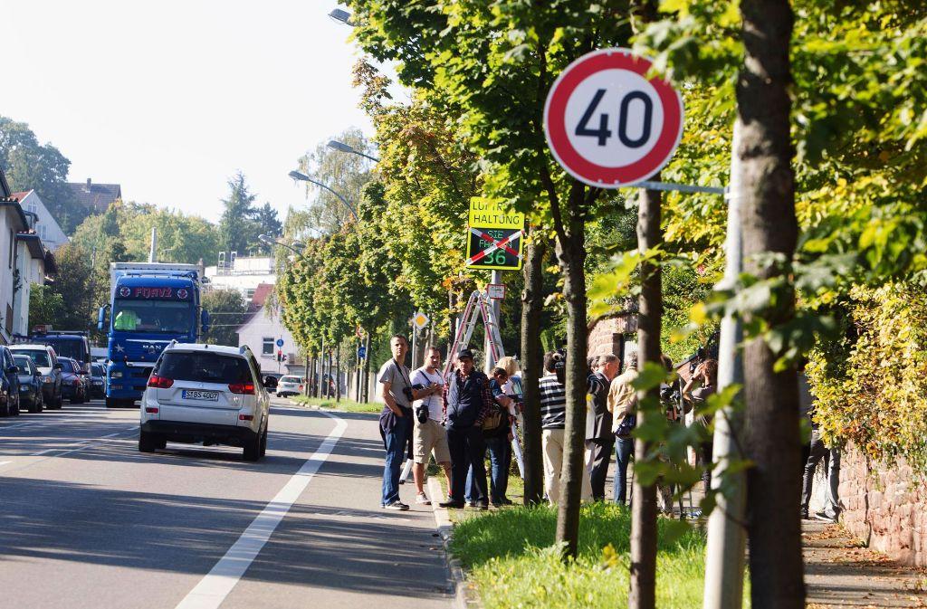 Welche Tempo-40-Strecken in Stuttgart hinzukommen, wird Thema bei den Haushaltsberatungen sein. Foto: Christian Haas