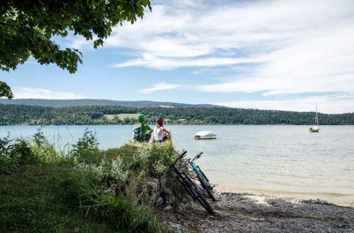 Bike-Tour im Naturpark Jura Vaudois