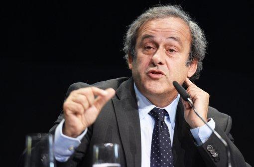 Uefa-Rückendeckung für Platini
